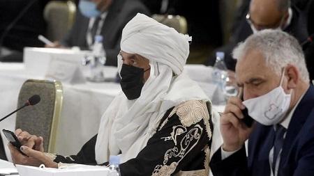 Les représentants libyens réunis à Tunis ont conclu un accord préliminaire pour l'organisation d'élections, mercredi 11 novembre. © Fethi Belaid, AFP (archives)