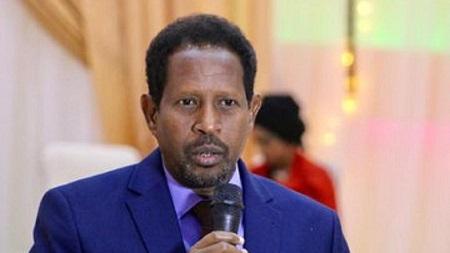 Le maire de Mogadiscio, Abdirahman Omar Osman