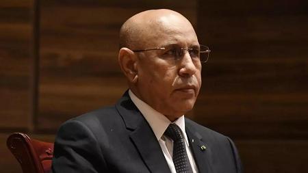 Le président Ghazouani (photo), au pouvoir depuis août 2019, a reçu ce jeudi 6 août Ismaïl Ould Cheikh Sidiya, qui lui a présenté la démission de son gouvernement. SEYLLOU / AFP