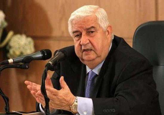 Chef de la diplomatie syrienne Walid Mouallem. ©SANA