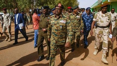 Le général Jamal Omar, membre du Conseil militaire de transition, le 4 juillet 2019. © ASHRAF SHAZLY / AFP