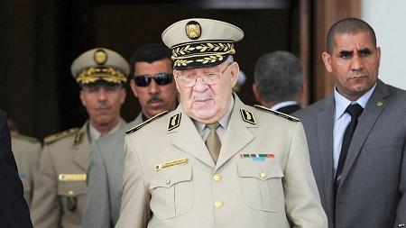 Le chef d'état-major de l'ANP, Ahmed Gaïd-Salah. D. R.