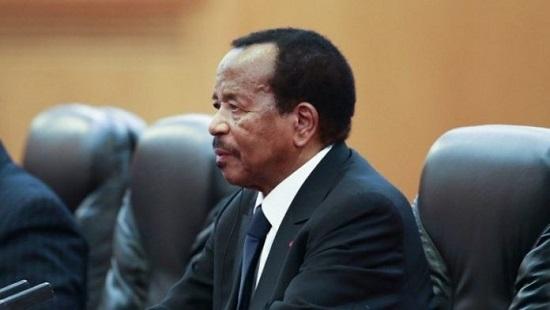 Le Président de la République du Cameroun, Paul Biya