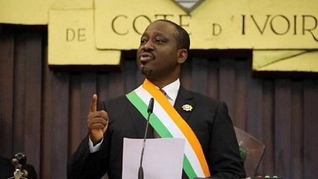 Guillaume Soro a réaffirmé vendredi sa volonté de se présenter à la présidentielle de 2020 en Côte d'Ivoire
