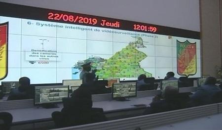 un 2e centre de commandement de vidéosurveillance, livré à Yaoundé par Huawei, gérera à terme 7000 caméras