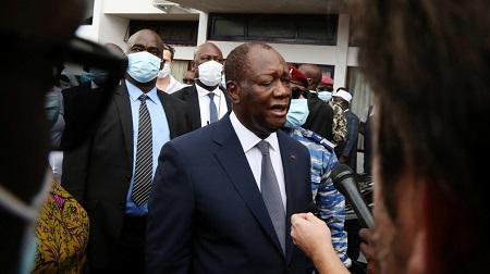 Alassane Ouattara © REUTERS/Macline Hien