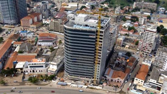 Une vue aérienne de Luanda, la capitale angolaise. © Getty Images