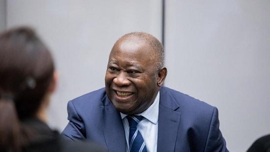 Laurent Gbagbo, l'ex-président ivoirien, lors d'une audience devant la CPI, le 15 janvier 2019. © CPI
