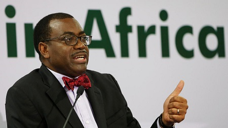 Le président de la BAD, Akinwumi Adesina, salue les performances des économies africaines (image d'illustration) REUTERS/Amit Dave