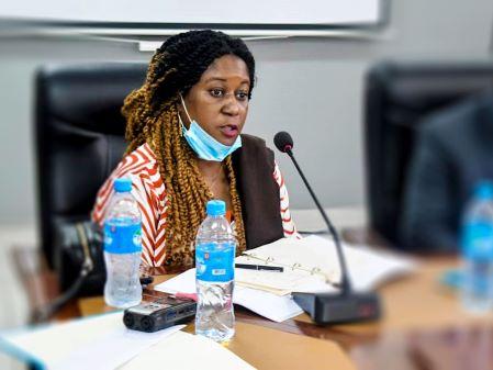 Emma Kowa Jalloh, ministre de la Pêche et des Ressources marines