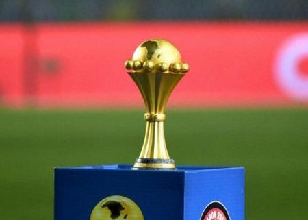 Le trophée original de la Coupe d'Afrique des nations
