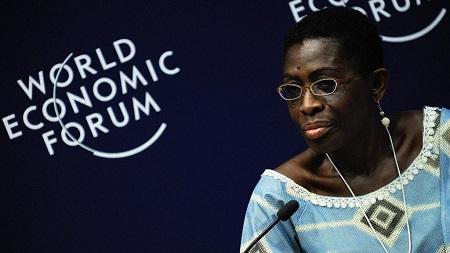 L'ancienne ministre des finances du Liberia, Antoinette Sayeh