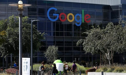 Le siège de Google à Mountain View, en Californie, le 2 septembre 2015. Photo Justin Sullivan. | GETTY IMAGES NORTH AMERICA. AFP