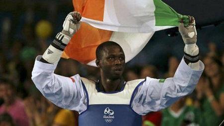 Le Nigérien Issoufou Alfaga Abdoul Razack a été sacré champion dans la catégorie des poids  lourds (plus de 87 kg) de Taekwondo, aux Jeux Africains Rabat 2019