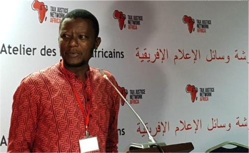 Alvin Mosioma, le président de TJNA(Tax Justice Network Africa)