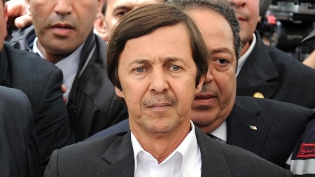 Saïd Bouteflika, frère et conseiller de l'ex-président algérien, Abdelaziz Bouteflika, le 19 mai 2012 FAROUK BATICHE / AFP
