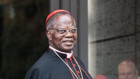 Le cardinal Laurent Monsengwo Pasinya