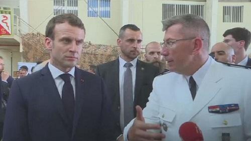 Macron justifie la présence de la France et tacle la Chine