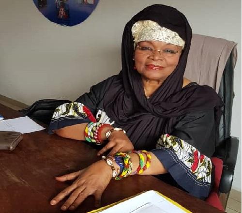 Me Alice Nkom, née en 1945, elle devient la première femme avocate d'expression française au barreau du Cameroun en 1971. Photo: Alice Nkom