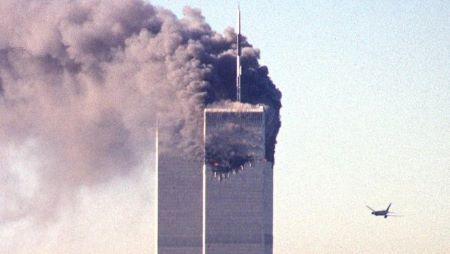 L'attentat du World Trade Center, le 11 Septembre 2001.• Crédits : AFP
