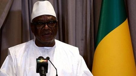 Le président malien Ibrahim Boubacar Keita.GETTY IMAGES