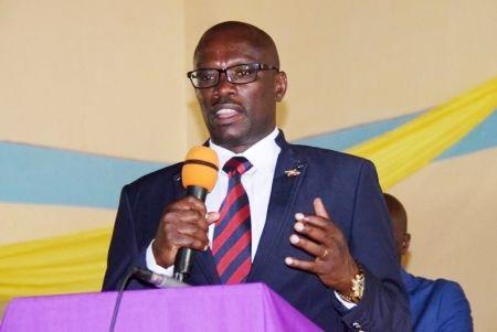 Reverien Ndikuriyo, président du Sénat burundais