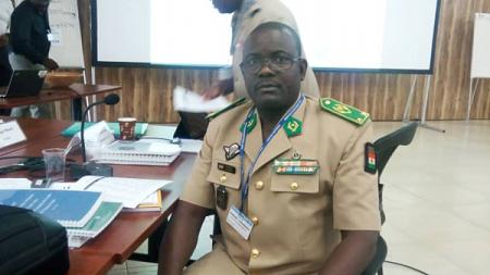 Le général Oumarou Namata Gazama, nouveau commandant du G5 Sahel. © DR