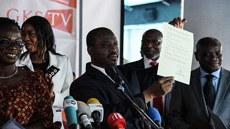 """La levée d'immunité de Loukimane Camara, Kando Soumahoro, Alain Lobognon, Mamadou Soro, Soumaila Yao ainsi que de Guillaume Soro, a été votée après """"une requête du groupe RHDP"""""""