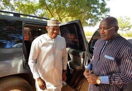 Hama Amadou, leader de l'opposition nigérienne