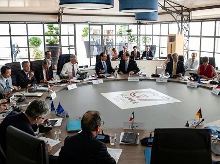 Réunion du G7 en France