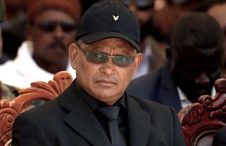 Debretsion Gebremichael, chef du TPLF(forces du front de libération du peuple du Tigré )