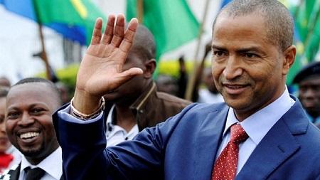 Moïse Katumbi, opposant congolais et président du parti « Ensemble pour le changement »