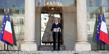 Le secrétaire général de l'Elysée, Alexis Kohler, a annoncé la liste du gouvernement. (Reuters)