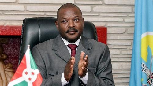 Le président de la République du Burundi,  Pierre Nkurunziza