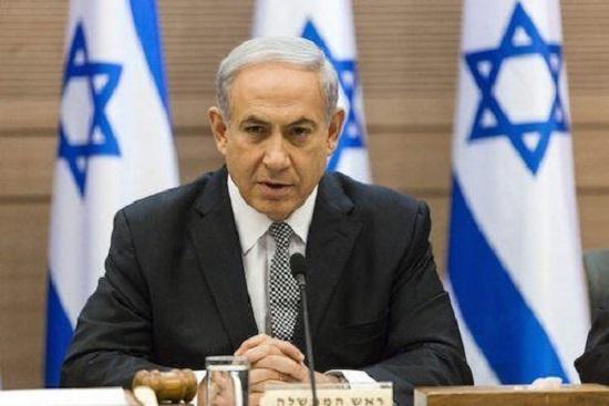 Le premier ministre israélien , Benjamin Netanyahou