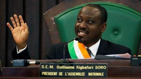 L'ancien chef de la rébellion ivoirienne Guillaume Soro, ex-président de l'Assemblée nationale ivoirienne