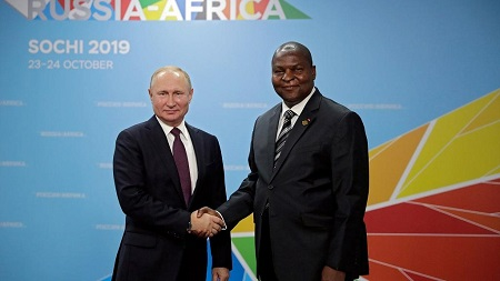 La République centrafricaine ouverte à une plus grande coopération militaire avec la Russie