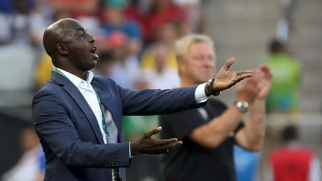 Samson Siasia, ancien entraîneur de l'équipe nationale