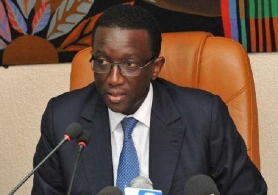 Le ministre des finances sénégalais, Amadou Bâ