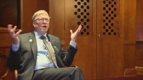 Le multimilliardaire et philanthrope Bill Gates, patron de Microsolft