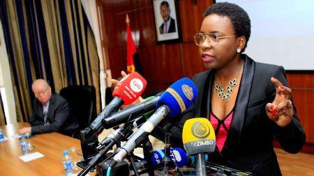 Vera Daves de Sousa, secrétaire d'Etat aux Finances et au Trésor du gouvernement angolais