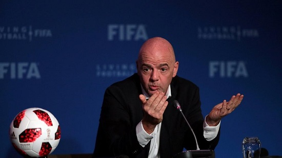 Gianni Infantino, 48 ans, président de la Fédération internationale de football association (FIFA)