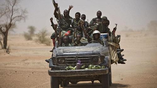 """L'armée tchadienne a annoncé samedi avoir capturé """"plus de 250 terroristes"""
