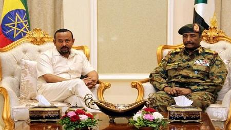 Mahmoud Drir, représentant du Premier ministre éthiopien Abiy Ahmed qui s'était rendu vendredi à Khartoum pour tenter une médiation