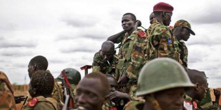 Illustration. Des soldats de l'armée sud-soudanaise, en 2012 dans l'État d'Unité. © Pete Muller/AP/SIPA