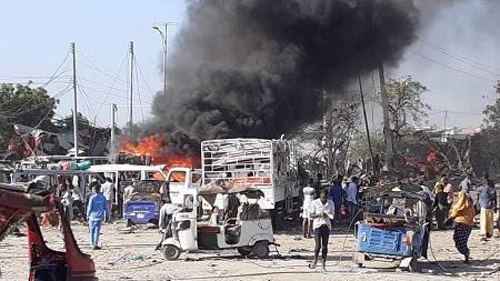 Le bilan de l'attentat de samedi à Mogadiscio s'est alourdi à 81 morts