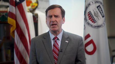 Mark Green, administrateur de l'Agence des Etats-Unis pour le développement international (USAID)