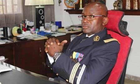 Capitaine de Frégate Cyrille Serge ATONFACK GUEMO  Chef de Division de la Communication / MINDEF