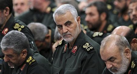 Le général iranien Qassem Soleimani, tué dans un bombardement américain à Bagdad en Irak © AP Photo / Office of the Iranian Supreme Leader