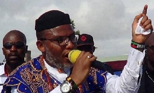 Le porte-parole du Mouvement autochtone des peuples du Biafra (IPOB)